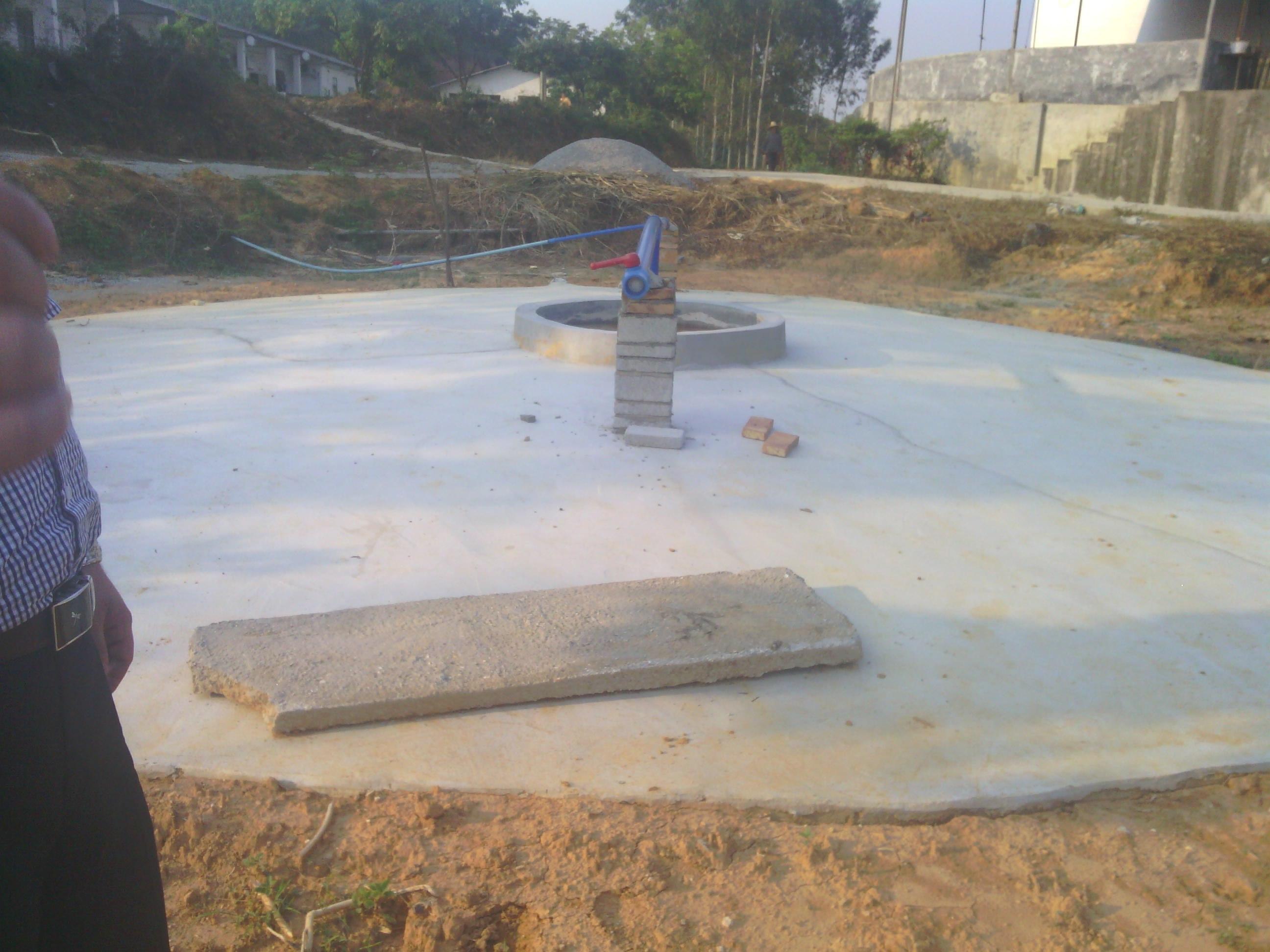 四会沼气池建设