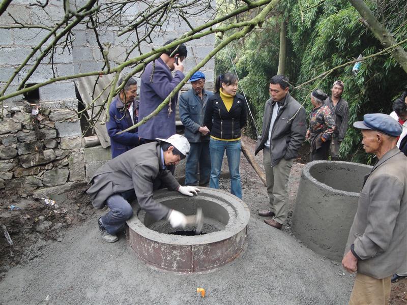 四会沼气工程建设
