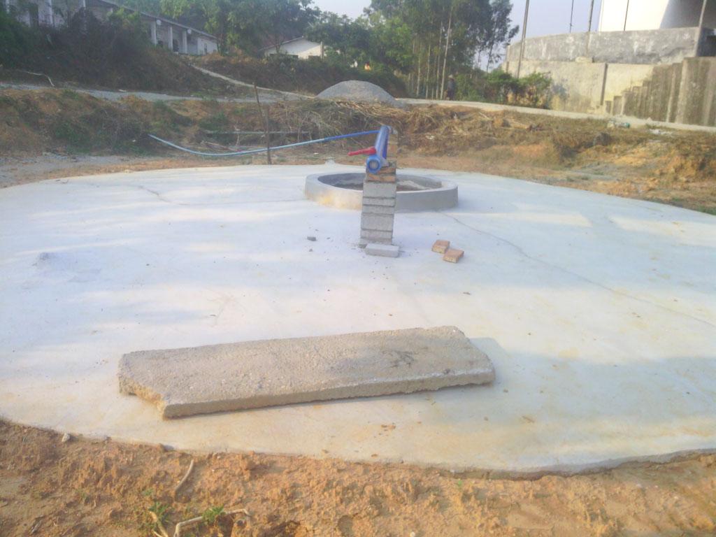 华南农大石滩猪场沼气工程