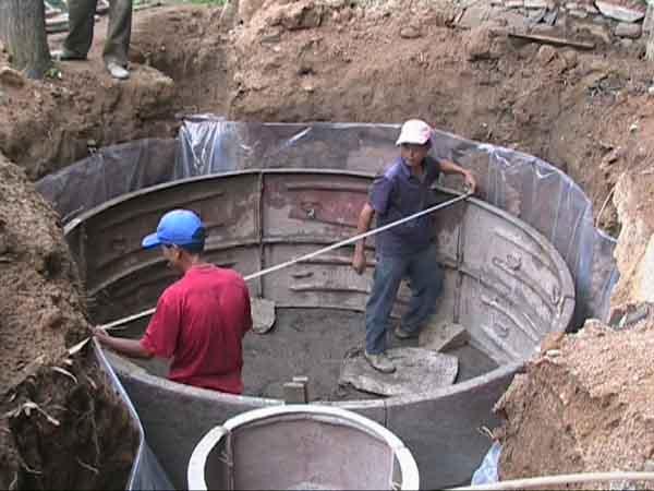 韶关沼气池建设