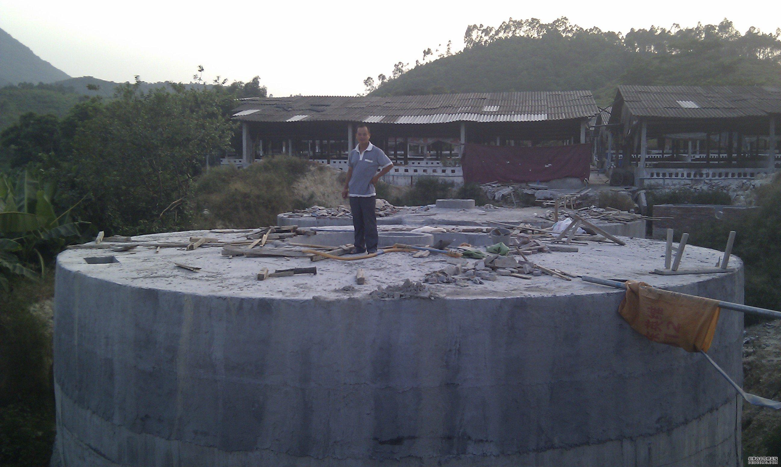 增城沼气工程建设