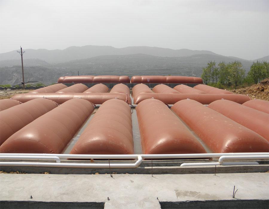 河源沼气储气袋|贮气柜|双膜气袋|红泥储气袋