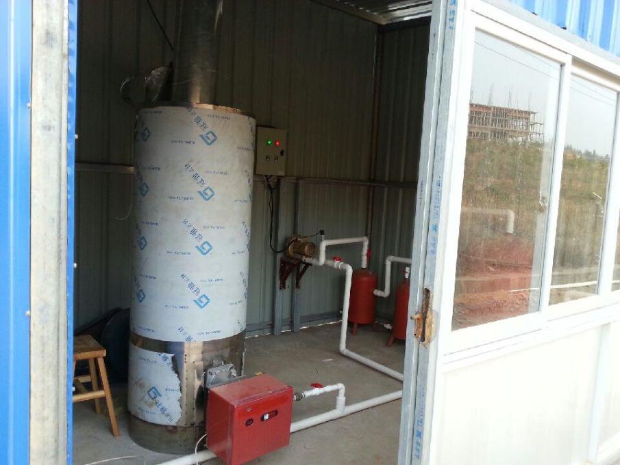 沼气热风炉|猪舍保温|小猪保暖设备