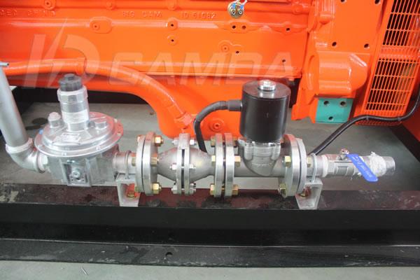 康达H系列220KW燃气发电机组进气系统