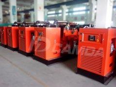 120KW沼气发电机组 燃气发电机组 沼气发电设备