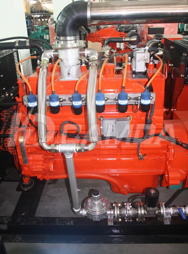 康达H系列220KW燃气发电机组混合器