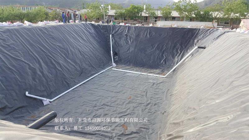 北京平谷区黑膜沼气工程 黑膜沼气池成功案例