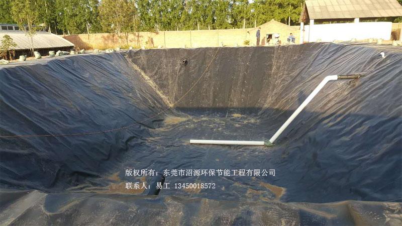 北京大兴区黑膜沼气池成功案例 黑膜沼气工程成功案例