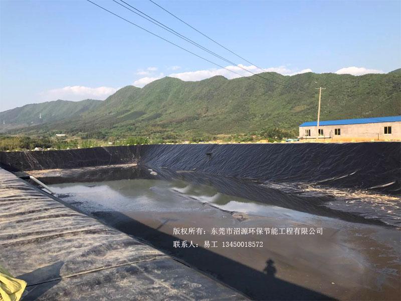 安徽宣城黑膜沼气池 黑膜沼气工程