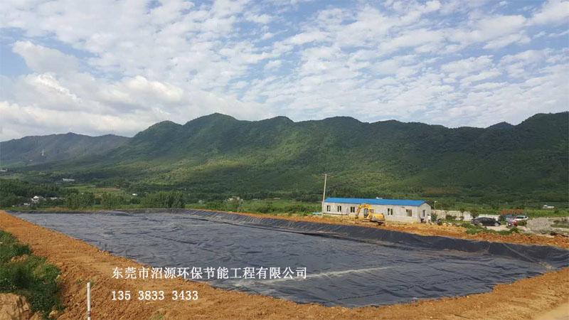 安徽宣城黑膜沼气工程