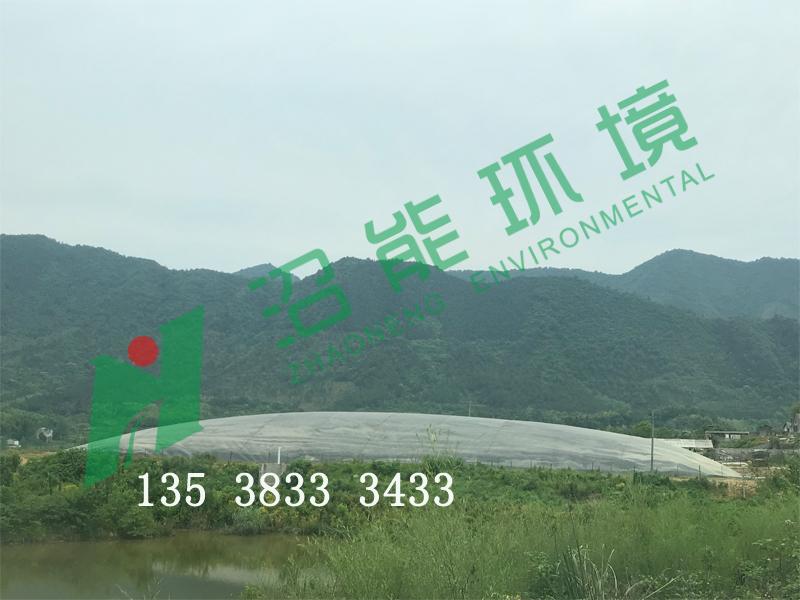 安徽宣城泾县20000立方黑膜沼气工程 黑膜沼气池