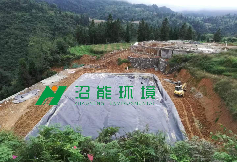 贵州毕节七星关区某猪场2000立方bobAPP安卓沼气工程
