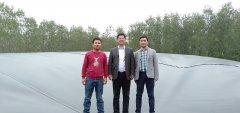 武汉工业大学王存文校长考察我公司潜江污水处理项目